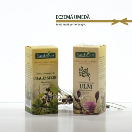 Tratament naturist - Eczema umeda (pachet)