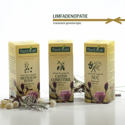 Tratament naturist - Limfadenopatie (pachet)