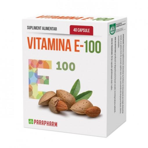 Vitamina E - 100 40cps