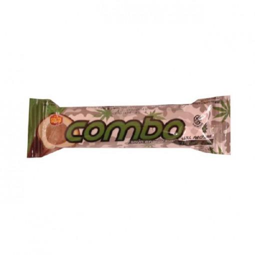 Ciocolata cu soia si seminte de canepa fara gluten - 58 g - Combo