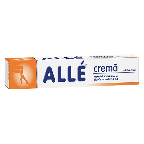 Alle Crema 10 mg + 250ui - 35 g
