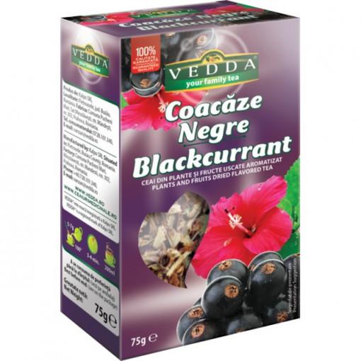 Ceai coacaze negre - 75 gr