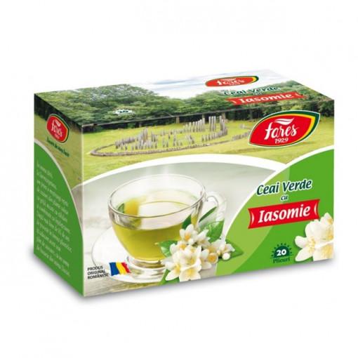 Ceai Verde cu Iasomie - 20 pl Fares