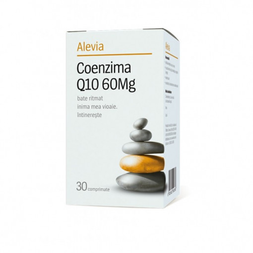 Coenzima Q10 60mg - 30 cpr