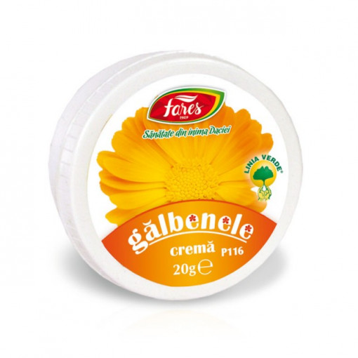 Crema Galbenele P116 - 20 gr Fares