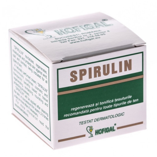 Poze Crema Spirulin 50 ml Hofigal