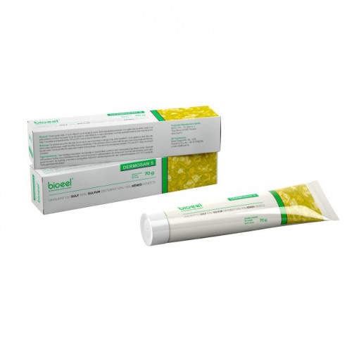 Dermosan S Unguent cu sulf - 70 g Bioeel