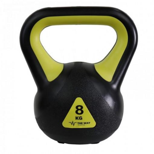 Gantere Kettlebell, 8 kg, Vinil, TheWay Fitness