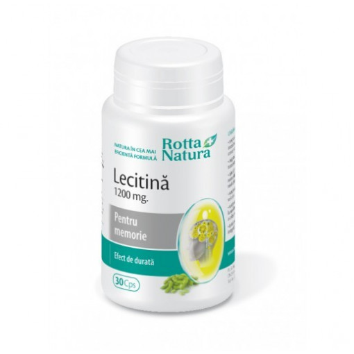 Poze Lecitina 1200 mg - 30 cps