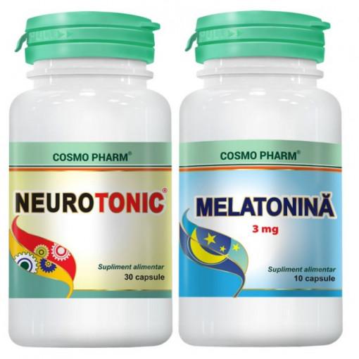 Neurotonic - 30 cpr + Melatonina 10 cpr GRATIS