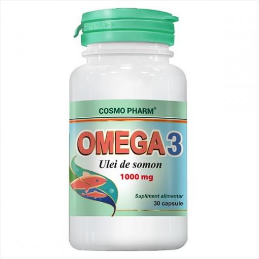 Omega 3 ulei somon 1000MG - 30 cps