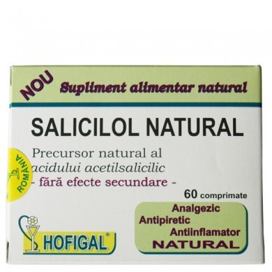 Poze Saliciol natural 60cpr Hofigal