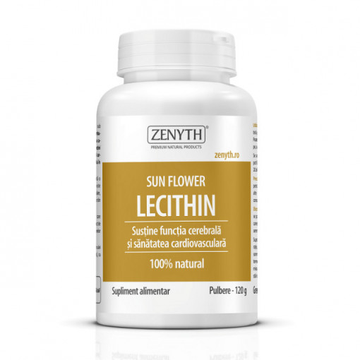 Sun Flower Lecithin Pulbere - 120 g