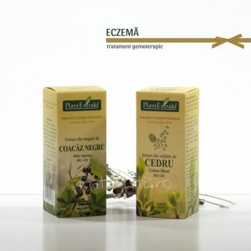 Tratament naturist - Eczema (pachet)