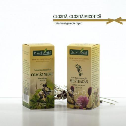 Tratament naturist - Glosita, glosita micotica (pachet)