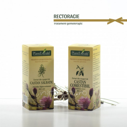 Tratament naturist - Rectoragie (pachet)
