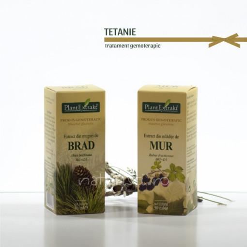 Tratament naturist - Tetanie (pachet)