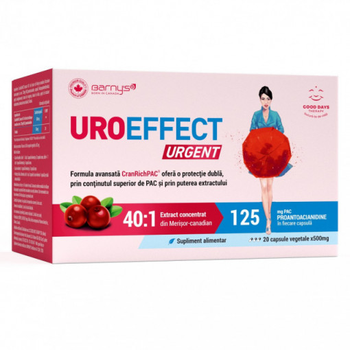 Uroeffect Urgent - 20 cps