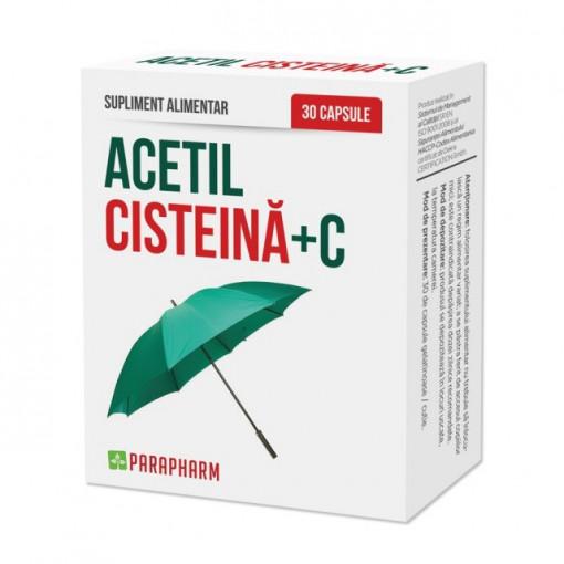 Acetil Cisteina + C - 30 cps