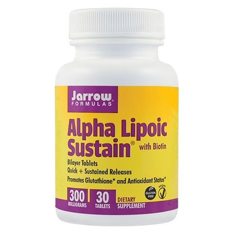 Poze Alpha Lipoic Sustain  300mg - 30 cps