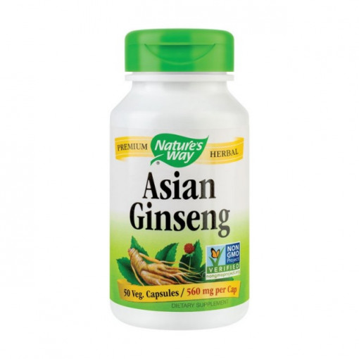 Poze Asian Ginseng - 50 cps