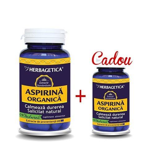 Aspirina Organica 60 cps + 10 cps Gratis