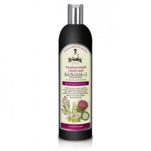 Balsam impotriva caderii parului brusture - 550 ml Bunica Agafia