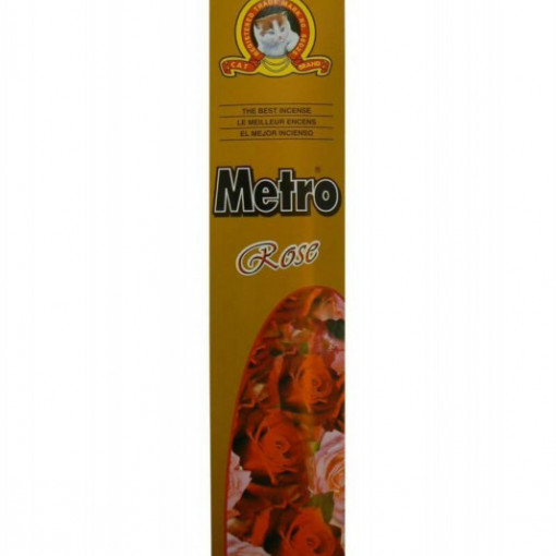 Betisoare Parfumate Metro Rose - 20 buc