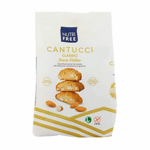 Cantucci Biscuiti cu bucati de migdale - 240 g - NutriFree