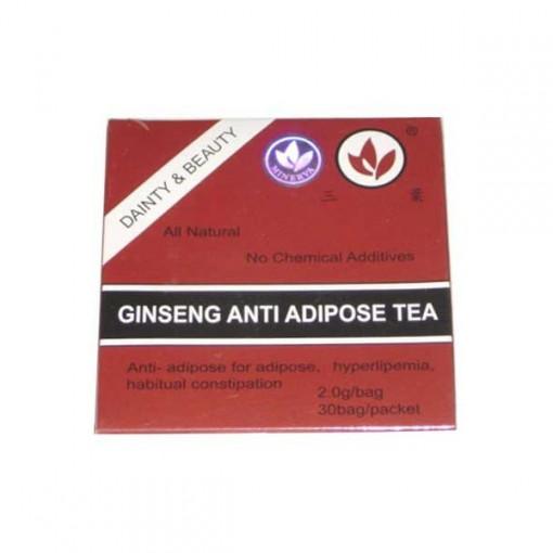 Ceai Antiadipos + Ginseng - 30 pl Minerva