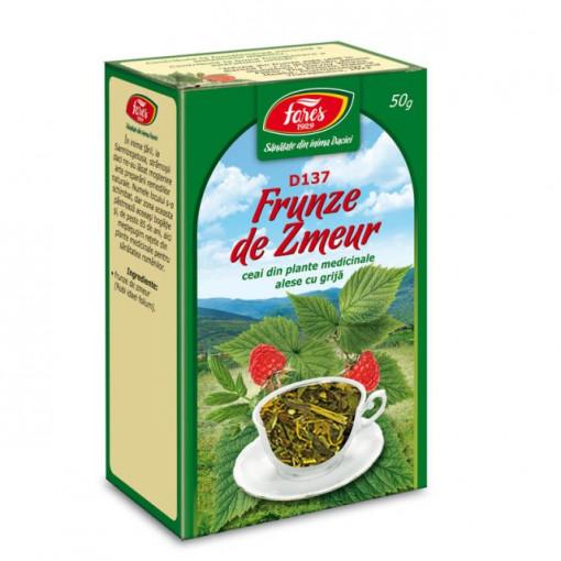 Ceai Zmeur - Frunze D137 - 50 gr Fares