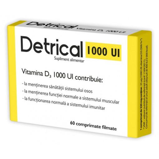Detrical D3 1000 IU - 60 cpr