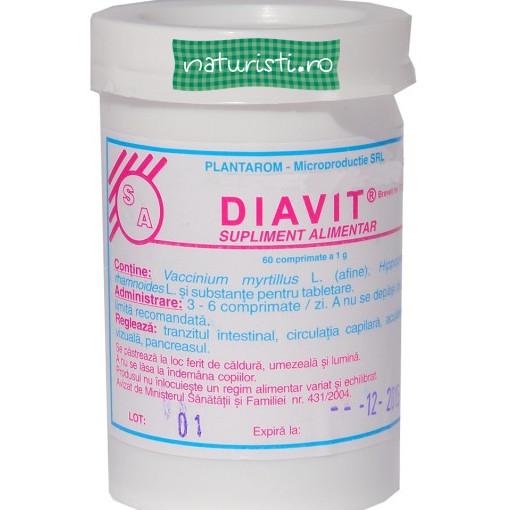 Diavit 60cps - trateaza-ti diabetul