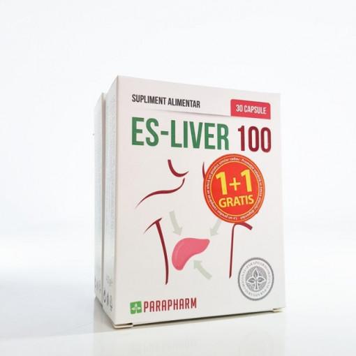 Es-Liver 100 - 30 cps 1+1 Gratis