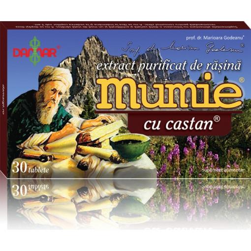 Extract purificat de rasina Mumie cu castan - 30 tbl