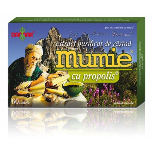 Extract purificat de rasina Mumie cu propolis - 60 tbl