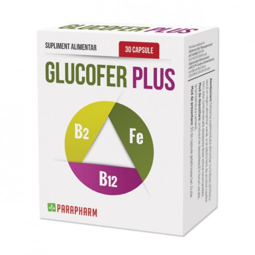 Poze Glucofer Plus - 30 cps