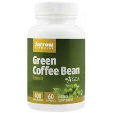 Poze Green Coffee Bean (Cafea verde) 400mg - 60 capsule vegetale - Jarrow Formulas