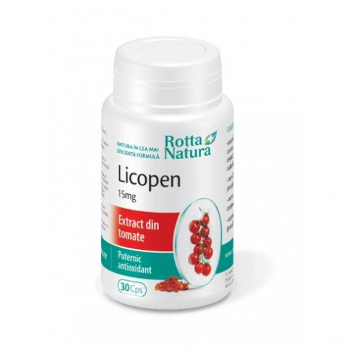 Poze Licopen 15 mg - 30 cps