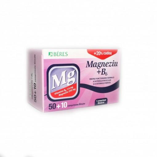 Magneziu cu B6 * Beres x 50 +10 cpr