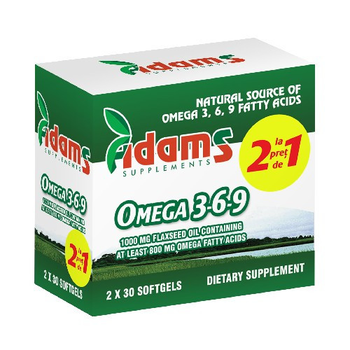Omega 3-6-9 - 30 cps 1+1 Gratis