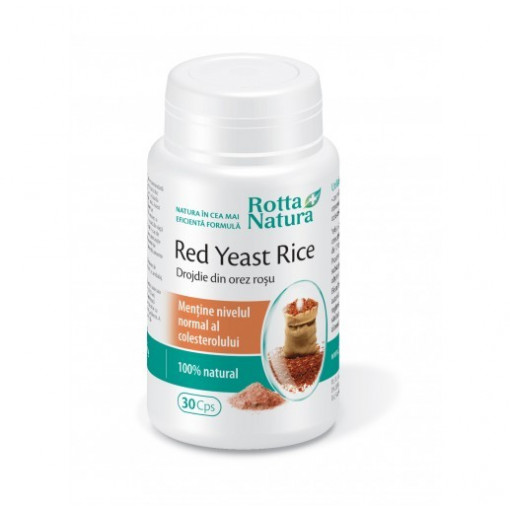 Poze Red Yeast Rice - 30 cps