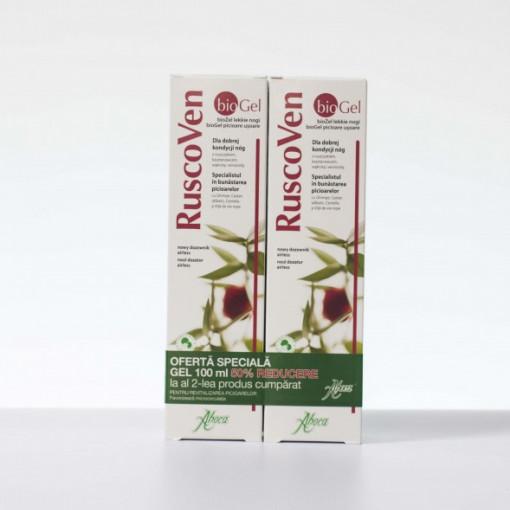 RuscoVen gel (BIO) - 100 ml 1+1-50% Gratis