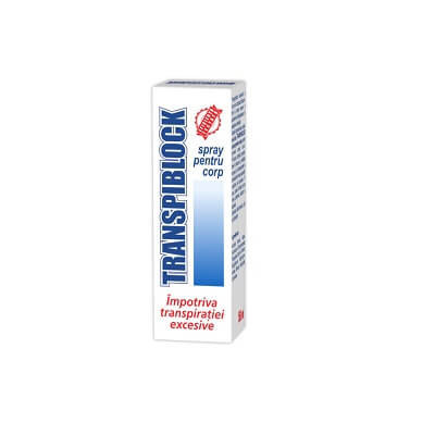Transpiblock Spray pentru corp - 50 ml