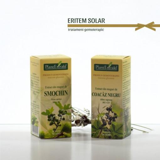 Tratament naturist - Eritem solar (pachet)