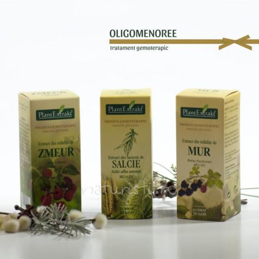 Tratament naturist - Oligomenoree (pachet)
