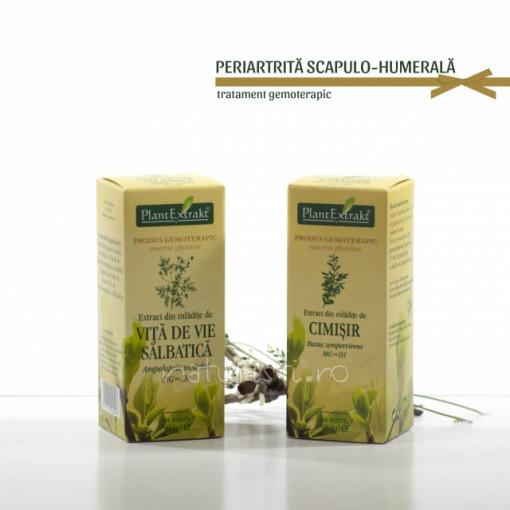 Tratament naturist - Periartrita scapulo-humerala (pachet)