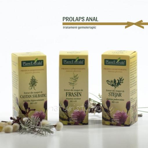 Tratament naturist - Prolaps anal (pachet)