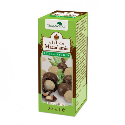 Poze Ulei de macadamia extra virgin - 30 ml