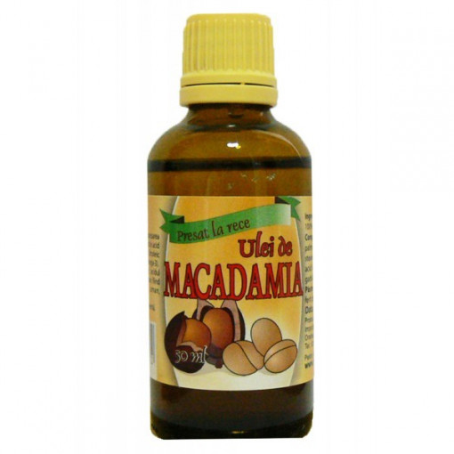 Ulei de macadamia presat la rece - 50 ml